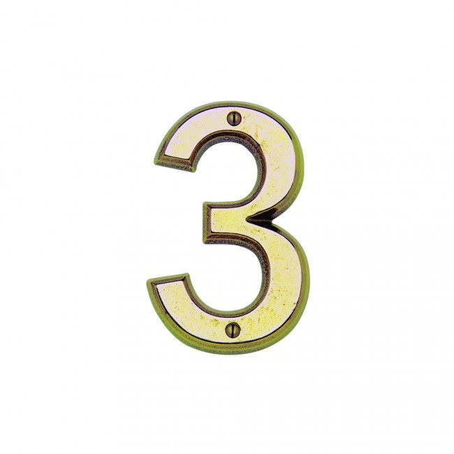 Rocky Mountain Hn60 House Number 0 Cape Cod Brass