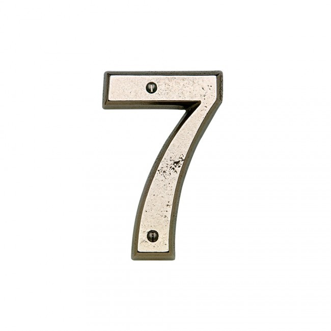 Rocky mountain hn60 house number 0 cape cod brass for Cape cod house numbers